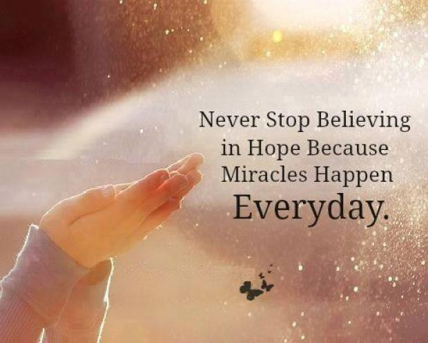Miracle is a belief